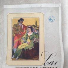 Coleccionismo: PROGRAMA FIESTAS DE SEVILLA PRIMAVERA 1947. Lote 261285820