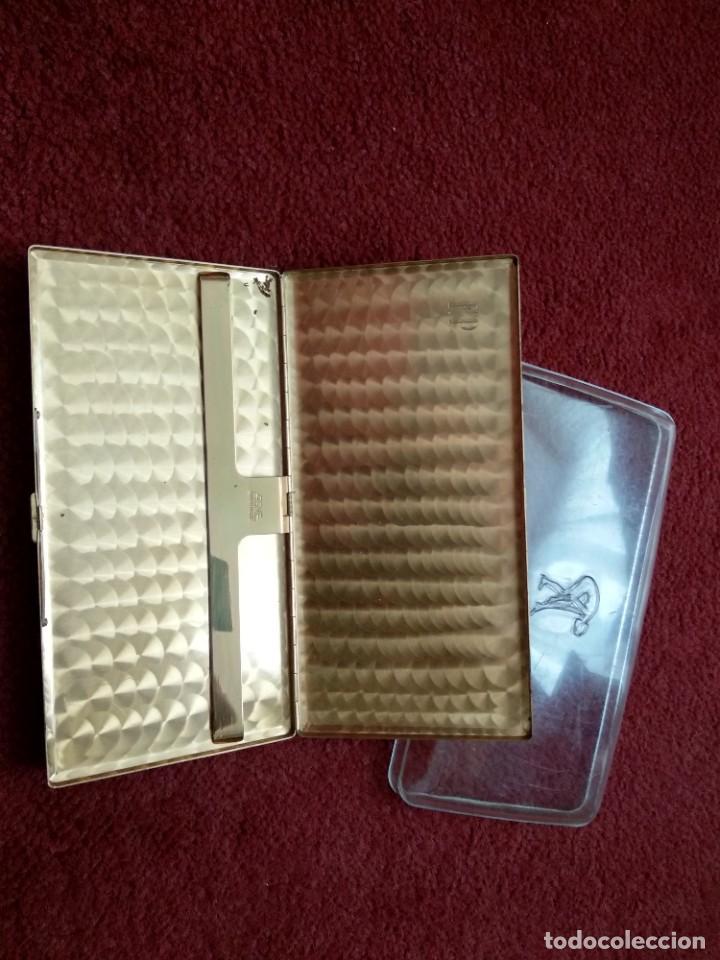 Coleccionismo: Vintage Tabaquera Caja de Tabaco Marca AGME - Foto 2 - 261337015