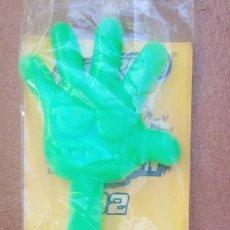 Coleccionismo: BOLSA CON 3 RAPPER POWER RAPPER MAGIC BOX INT MAD METAL GAME DIGIMON RAPPERS. Lote 261925595