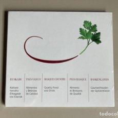 Coleccionismo: CD PROMOCIONAL TURISMO GASTRONÓMICO - GOBIERNO VASCO - EUSKADI - PRECINTADO. Lote 262077090
