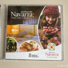 Coleccionismo: CD PROMOCIONAL TURISMO - GUÍA OFICIAL 2012 NAVARRA - PRECINTADO. Lote 262077475