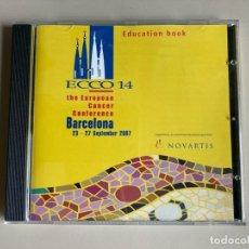 Coleccionismo: CD - ECCO 14 - THE EUROPEAN CANCER CONFERENCE BARCELONA 2007 - EDUCATION BOOK. Lote 262077855