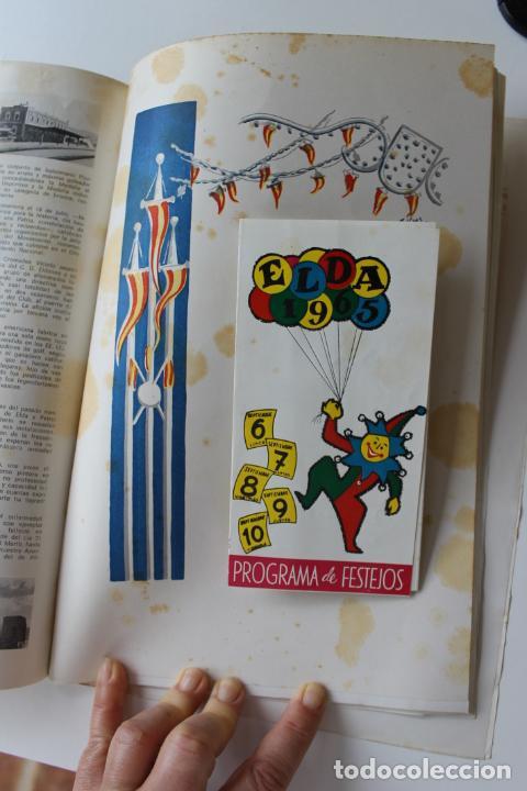 Coleccionismo: PROGRAMA DE FIESTAS ELDA, ALBORADA 1965 - Foto 11 - 262187670