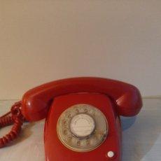 Coleccionismo: ANTIGUO TELÉFONO CITESA VINTAGE ORIGINAL ROJO 1970. Lote 262641905
