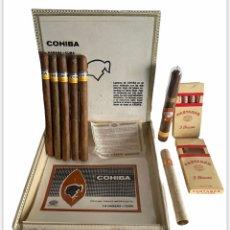 Coleccionismo: LOTE DE PUROS HABANOS COHIBA FONSECA GUANTANAMERA PARTAGAS. Lote 262707485