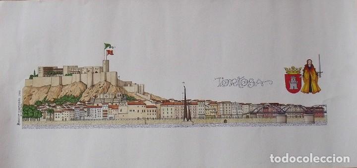 CHENCHO PARDO VALDÉS. TORTOSA. 2000. LAUS DEO. 32,5X68 CM. (Coleccionismo - Laminas, Programas y Otros Documentos)