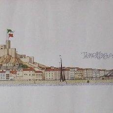 Coleccionismo: CHENCHO PARDO VALDÉS. TORTOSA. 2000. LAUS DEO. 32,5X68 CM.. Lote 263147005