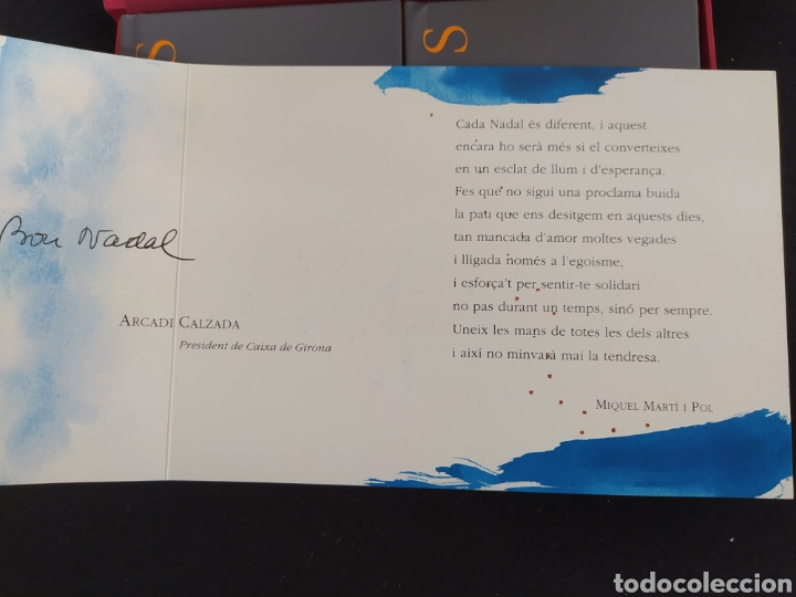 Coleccionismo: MIQUEL MARTÍ I POL NADALES LIBRO, DIBUJOS DE RIERA I ARAGÓ - Foto 4 - 263177165