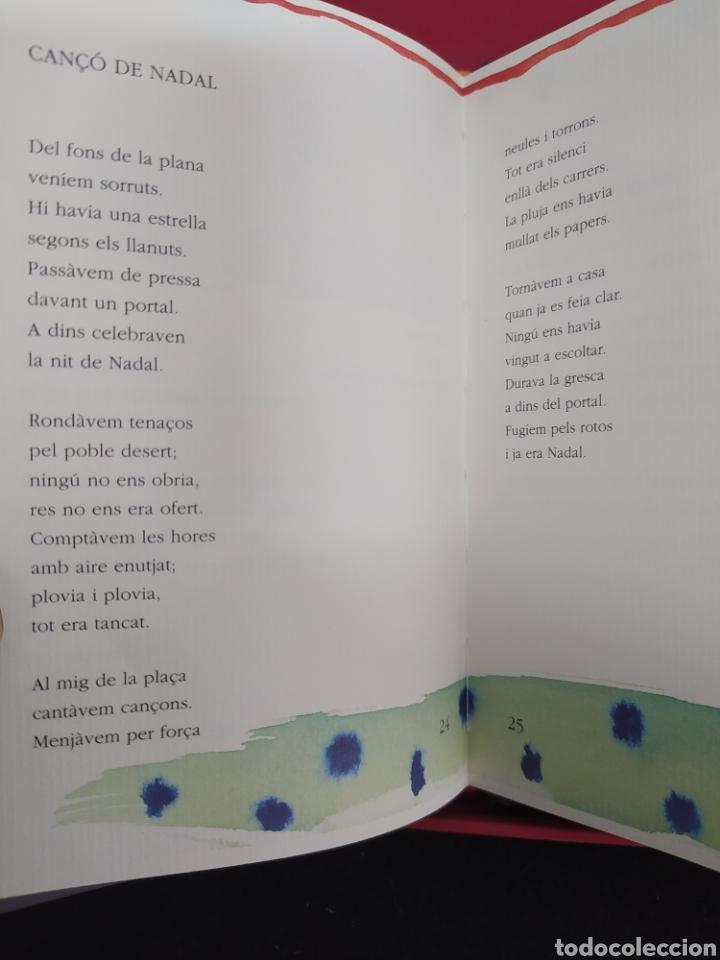 Coleccionismo: MIQUEL MARTÍ I POL NADALES LIBRO, DIBUJOS DE RIERA I ARAGÓ - Foto 7 - 263177165
