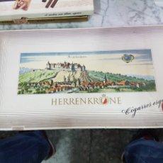Coleccionismo: CAJA DE TABACOS PUROS HERRENKRONE. Lote 263211185