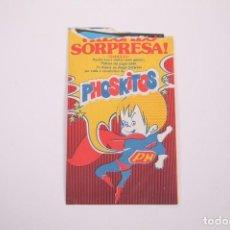 Coleccionismo: SOBRE REGALO SORPRESA GADGETS PHOSKITOS - EL MÓVIL DE LOS PECES - ABIERTO - PHOSCAO. Lote 263642140