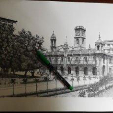 Coleccionismo: PLAZA DE ESPAÑA. LUGO - CARLOS PINTOS Y FCO FERNÁNDEZ DEL RIEGO. 1990 (32CM X 43CM). ENOR. Lote 263702635