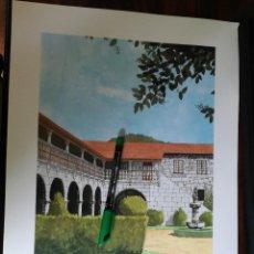 Coleccionismo: PAZO DE PERRELOS. LUGO - C. PINTOS Y GRATO E. AMOR MORENO. 1988 (32CM X 43CM). ENOR. Lote 263703630