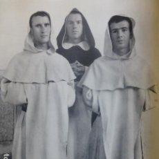 Collectionnisme: ÁVILA SANTO TOMÁS DOMINICOS ANTIGUA LAMINA HUECOGRABADO AÑOS 50. Lote 264242060