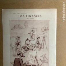 Coleccionismo: VIÑETA LOS PINTORES. BLANCO Y NEGRO MAYO 1931. J. XAUDARÓ.. Lote 264274804