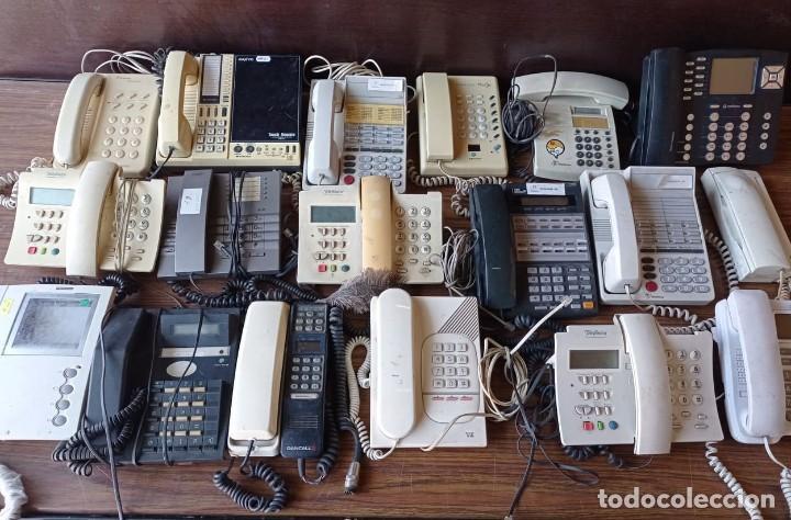 Coleccionismo: 19 TELEFONOS ANTIGUOS SURTIDOS - Foto 2 - 266377538
