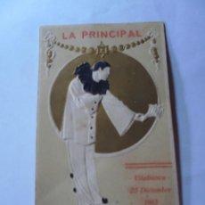 Coleccionismo: MAGNIFICO PROGRAMA VILAFRANCA DEL PENEDES LA PRINCIPAL DE 1913. Lote 266515648