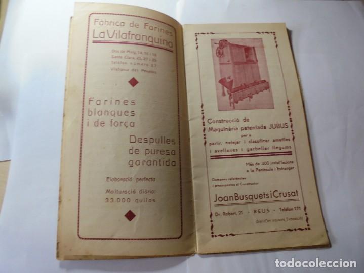 Coleccionismo: magnifico antiguo programa fires i festes de vilafranca del penedes 1934 - Foto 3 - 266522758