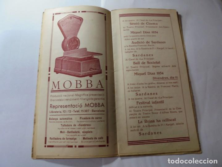 Coleccionismo: magnifico antiguo programa fires i festes de vilafranca del penedes 1934 - Foto 7 - 266522758