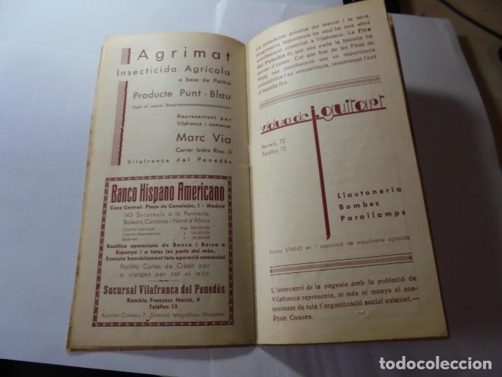 Coleccionismo: magnifico antiguo programa fires i festes de vilafranca del penedes 1934 - Foto 14 - 266522758