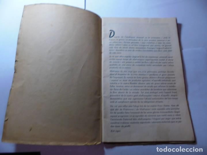 Coleccionismo: magnifico antiguo programa de vilafranca del penedes fira comercial y agricola 1936 - Foto 2 - 266803474