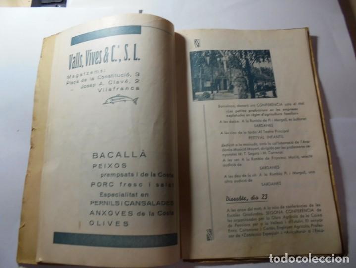 Coleccionismo: magnifico antiguo programa de vilafranca del penedes fira comercial y agricola 1936 - Foto 9 - 266803474