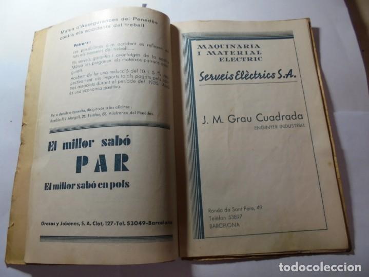Coleccionismo: magnifico antiguo programa de vilafranca del penedes fira comercial y agricola 1936 - Foto 10 - 266803474