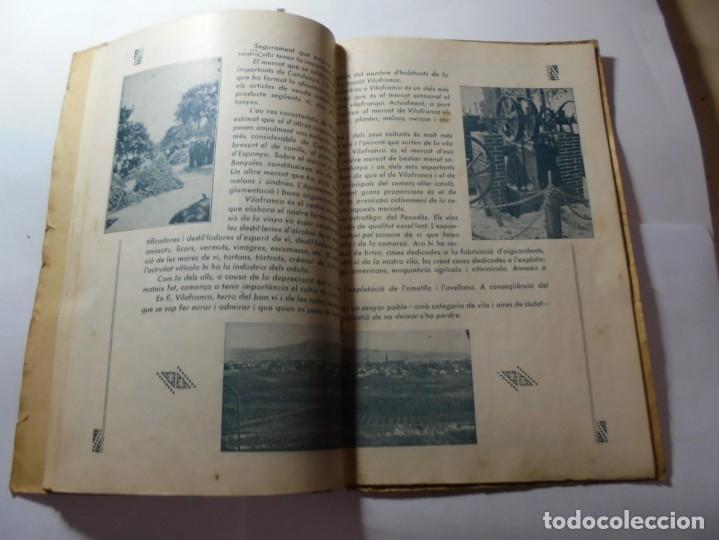 Coleccionismo: magnifico antiguo programa de vilafranca del penedes fira comercial y agricola 1936 - Foto 12 - 266803474