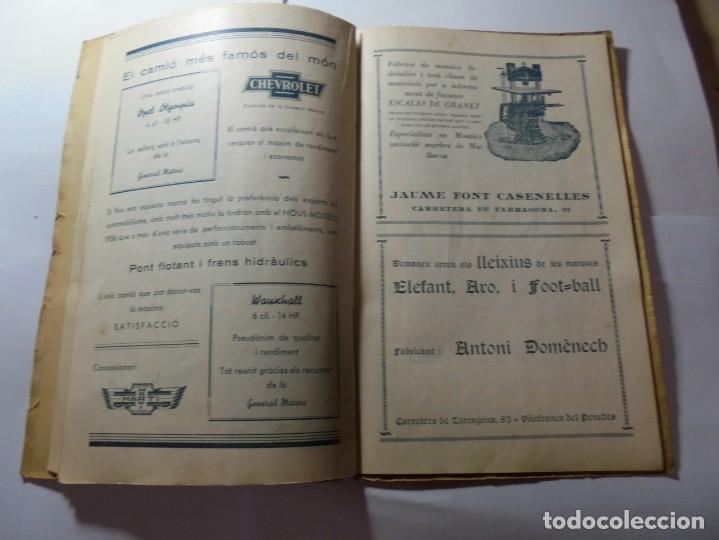 Coleccionismo: magnifico antiguo programa de vilafranca del penedes fira comercial y agricola 1936 - Foto 13 - 266803474