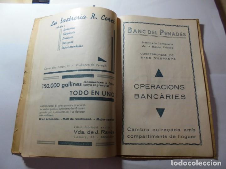 Coleccionismo: magnifico antiguo programa de vilafranca del penedes fira comercial y agricola 1936 - Foto 15 - 266803474