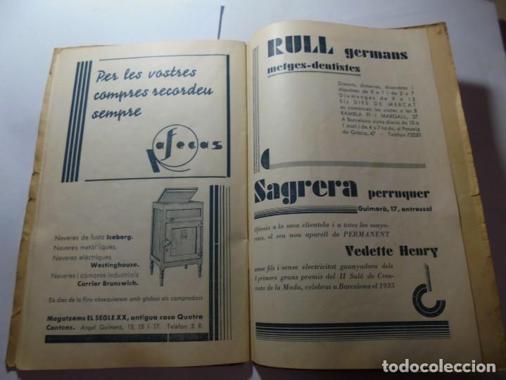 Coleccionismo: magnifico antiguo programa de vilafranca del penedes fira comercial y agricola 1936 - Foto 22 - 266803474