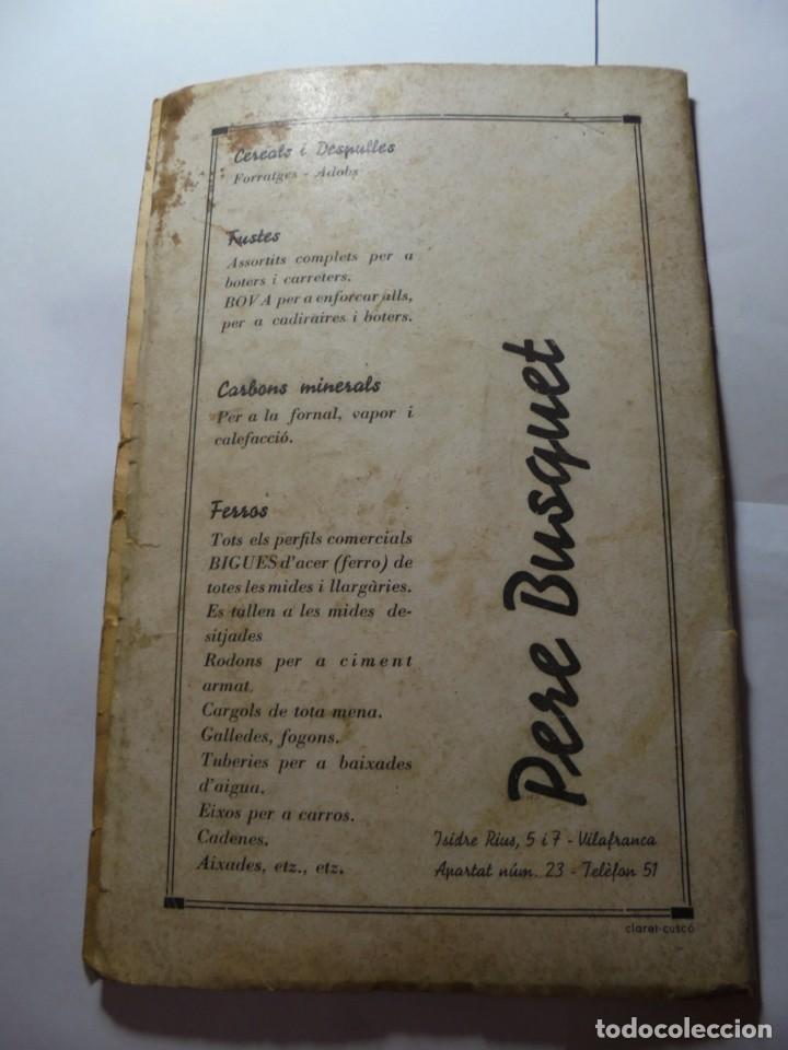 Coleccionismo: magnifico antiguo programa de vilafranca del penedes fira comercial y agricola 1936 - Foto 24 - 266803474