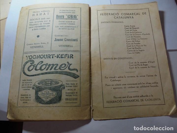 Coleccionismo: magnifico antiguo programa festa major penedesenca del 1935 - Foto 10 - 266805764