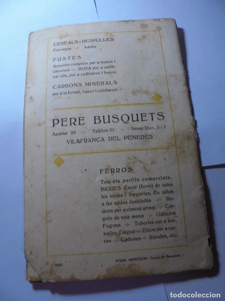Coleccionismo: magnifico antiguo programa festa major penedesenca del 1935 - Foto 11 - 266805764