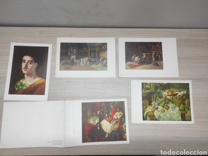 12 LÁMINAS PINACOTECAS ESPAÑOLAS Y MUSEO JEU DE PAUME. LAURACICLINA. HOSBON (Coleccionismo - Laminas, Programas y Otros Documentos)