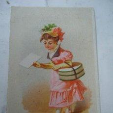 Coleccionismo: CORUÑA 1870 TARJETA PUBLICIDAD TERTULIA DE LA CONFIANZA BAILABLES ESTÁ ILUSTRADA EN EL FRONTAL Y EN. Lote 267793079
