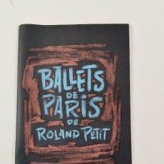 Coleccionismo: PR-2143. BALLETS DE PARIS DE ROLAND PETIT. 1958.. Lote 268597854