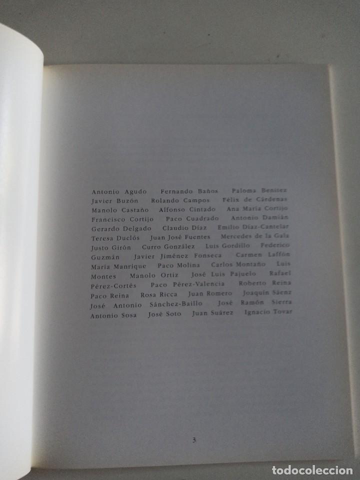 Coleccionismo: EXPOSICION 25 años en la estampa sevillana. FAUSTO VELÁZQUEZ(COORDINADOR) - Foto 2 - 268617594