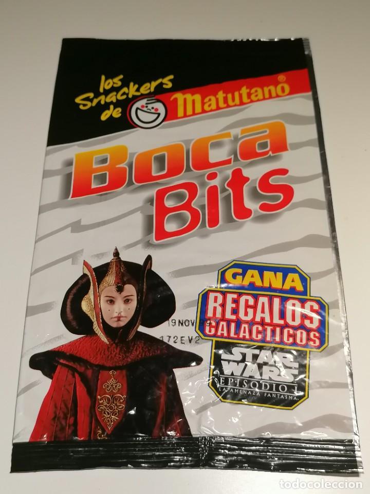 BOLSA DE APERITIVOS BOCA BITS MATUTANO PROMOCION STAR WARS EPISODIO I DE 1999 (Coleccionismo - Varios)