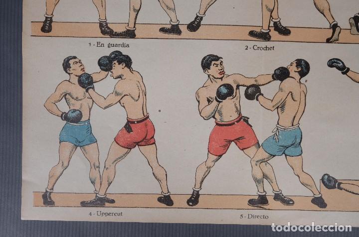 Coleccionismo: Estampa economica Paluzie Boxeo - Imprenta Elzeviriana y Libreria Camí Barcelona - Foto 4 - 268845724