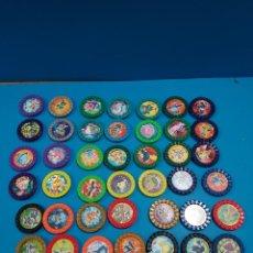 Colecionismo: LOTE DE 42 TAZOS...POKEMON ROKS....PLASTICO... Lote 269068898