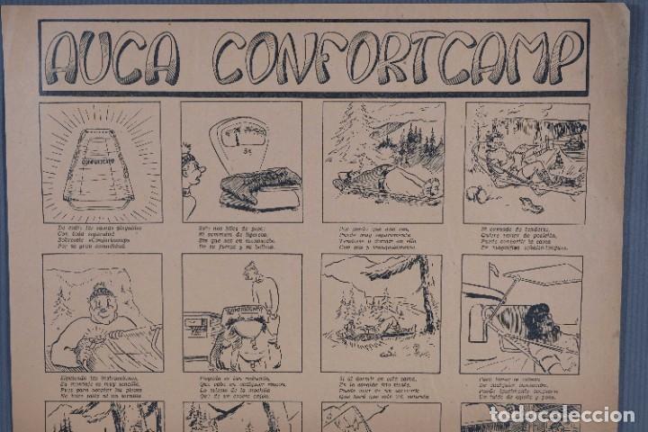 Coleccionismo: Auca/Aleluya Confortcamp - Ilustraciones de Enrique Díaz - Foto 2 - 269137208