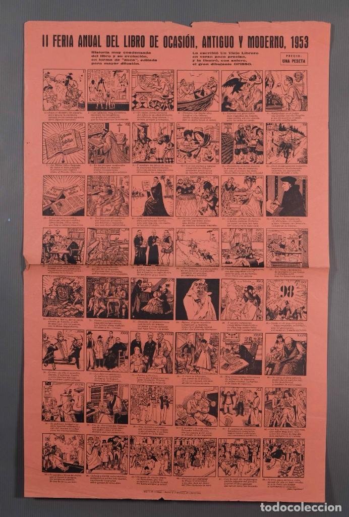 AUCA/ALELUYA II FERIA DEL LIBRO DE OCASIÓN, ANTIGUO Y MODERNO 1953 (Coleccionismo - Laminas, Programas y Otros Documentos)