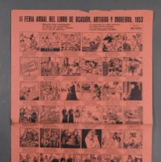 Coleccionismo: AUCA/ALELUYA II FERIA DEL LIBRO DE OCASIÓN, ANTIGUO Y MODERNO 1953. Lote 269137318