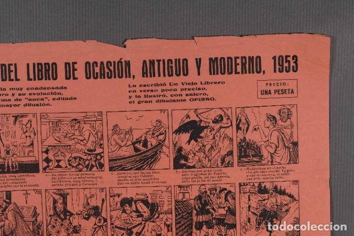 Coleccionismo: Auca/Aleluya II Feria del libro de ocasión, antiguo y moderno 1953 - Foto 2 - 269137318
