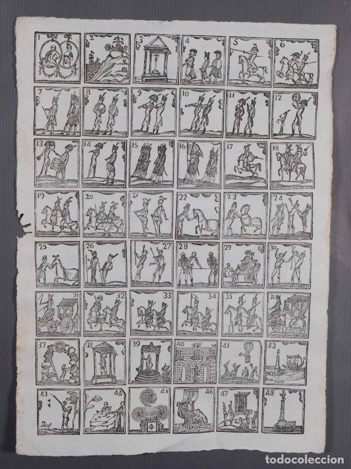 AUCA/ALELUYA SIGLO XIX - GRABADOS MILITARIA SIN TEXTO (Coleccionismo - Laminas, Programas y Otros Documentos)