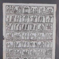Coleccionismo: AUCA/ALELUYA SIGLO XIX - GRABADOS MILITARIA SIN TEXTO. Lote 269137423
