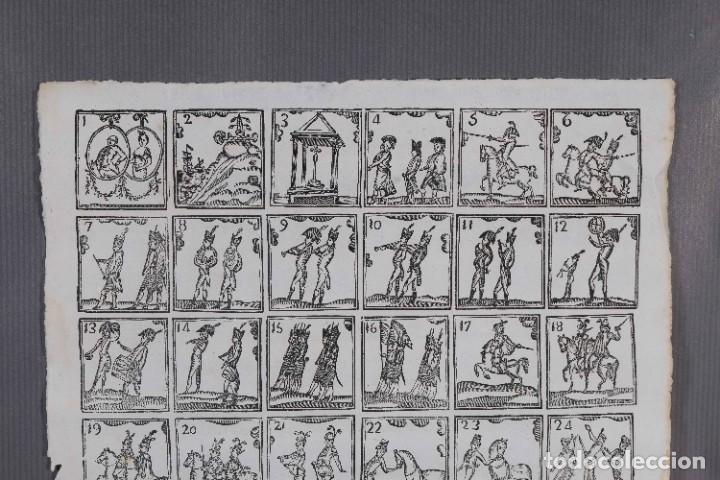 Coleccionismo: Auca/Aleluya siglo XIX - grabados militaria sin texto - Foto 2 - 269137423