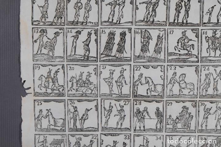 Coleccionismo: Auca/Aleluya siglo XIX - grabados militaria sin texto - Foto 3 - 269137423