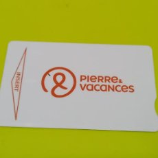 Colecionismo: TARJETA HOTELES PIERRE VACANTES MONTERREY ROSES. Lote 269157648